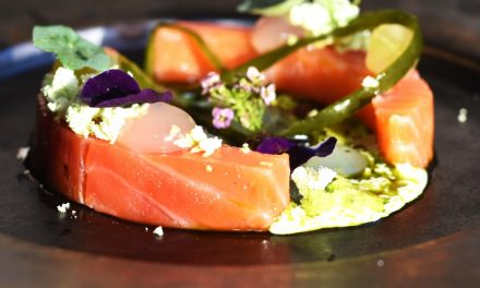 Salmon and Meadowsweet by Peace and Loaf