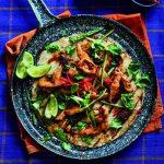 Chicken, Chilli & Basil Pancake Wraps