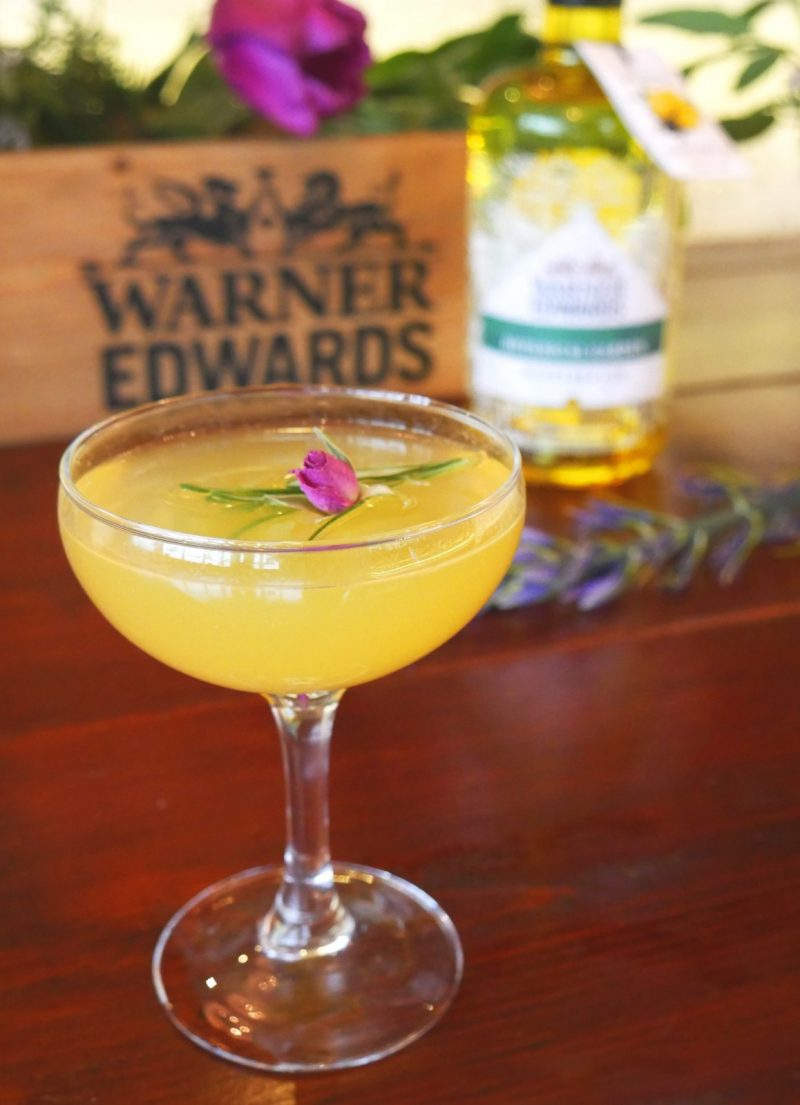 Bees Knees Gin Cocktail by Warner Edwards | Savour Magazine