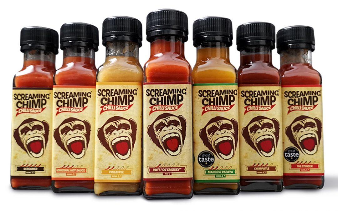 Food Market: Screaming Chimp Sauces