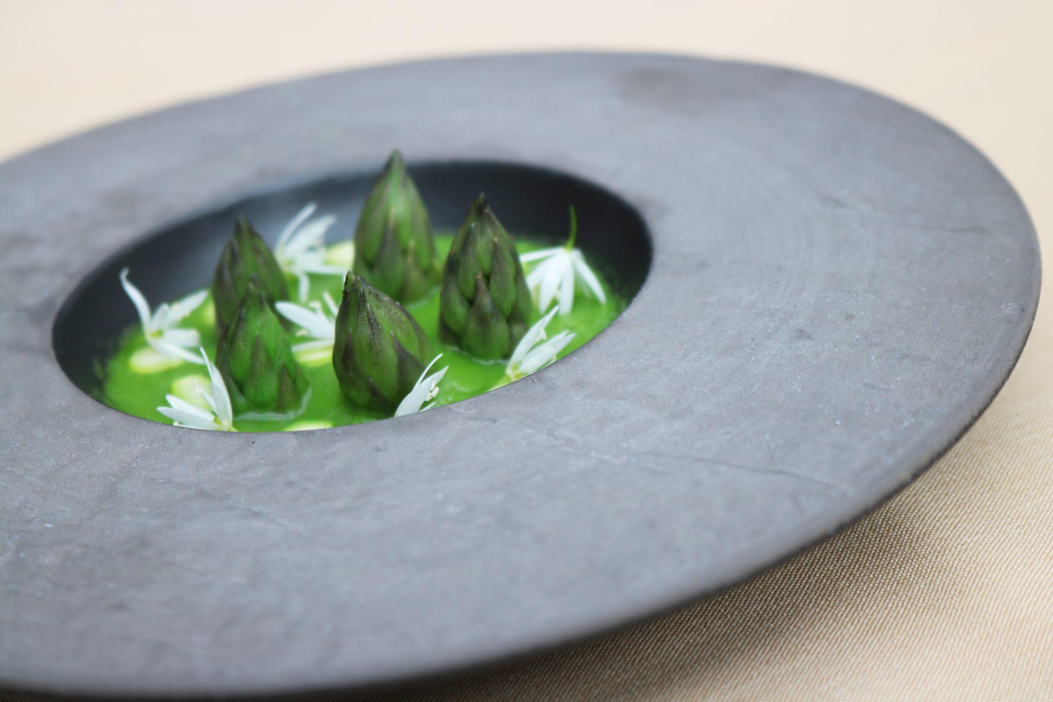 Asparagus And Wild Garlic Soup