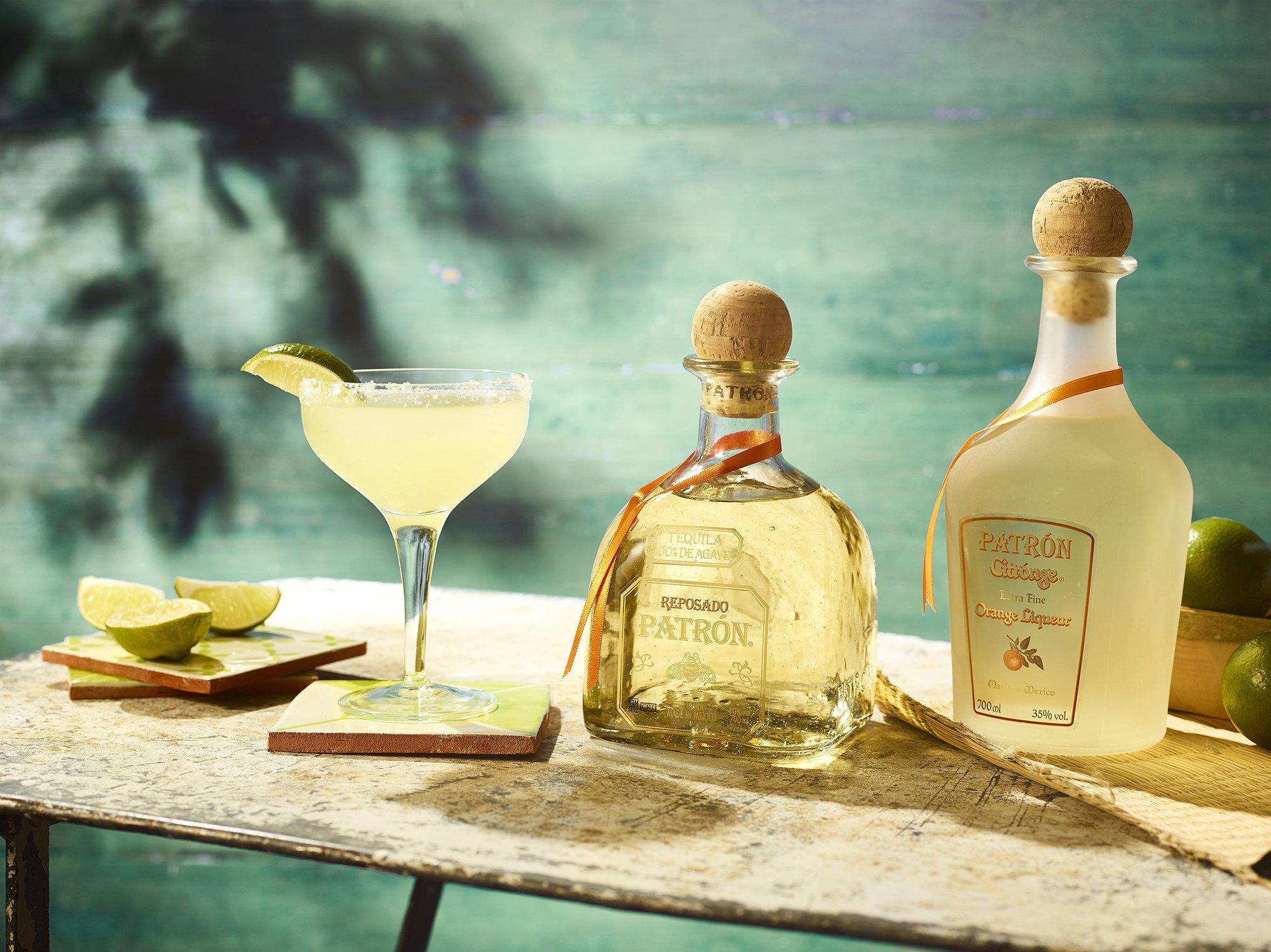Cocktail Recipe: Patrón Margarita