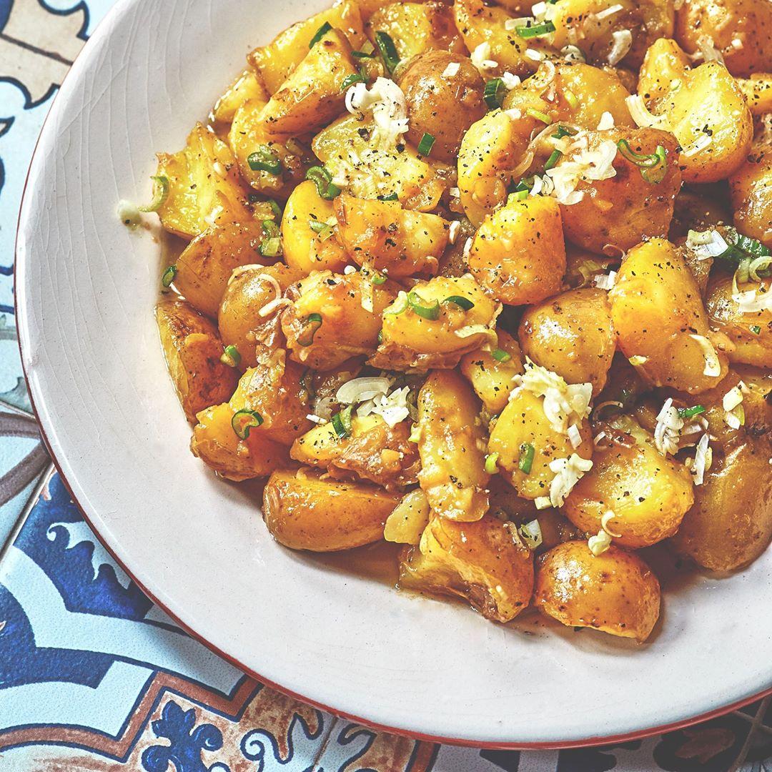 Recipe: Spanish Style Potato Salad
