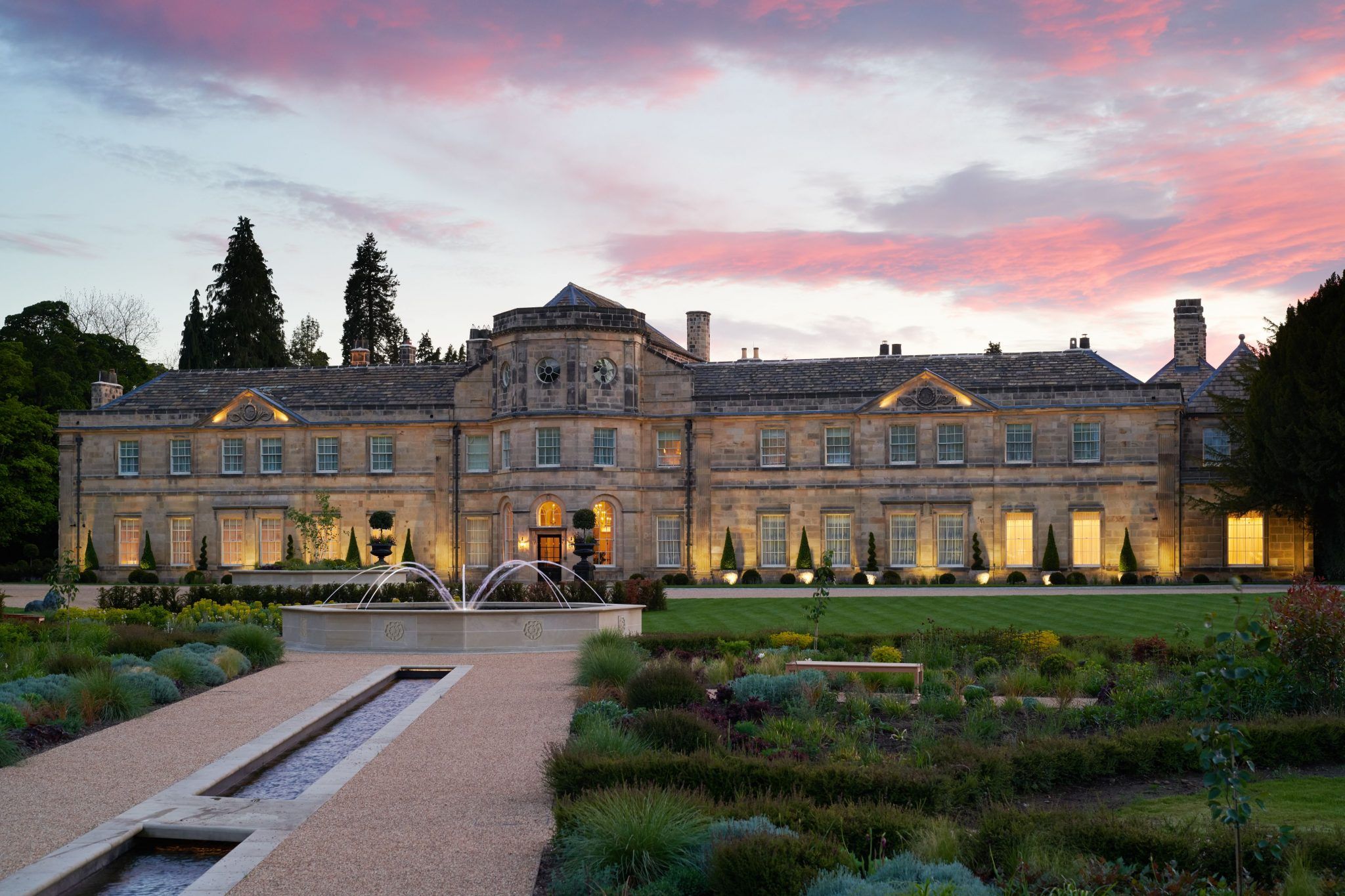 Michelin-starred Dining At Grantley Hall North Yorkshire