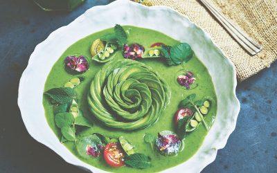 Super Green Gazpacho Recipe by Gaz Oakley