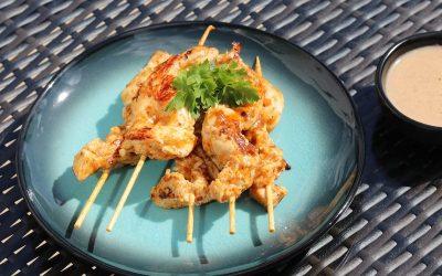 Paul Gayler's Chicken Satay Skewers Recipe
