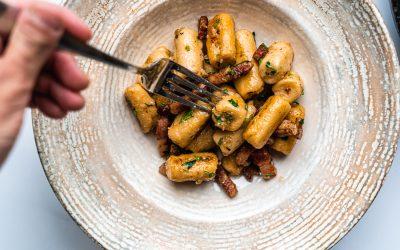 10 Ingredient Gnocchi with Pancetta & Brown Butter Sauce