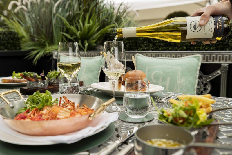 The Norton Terrace Food Options