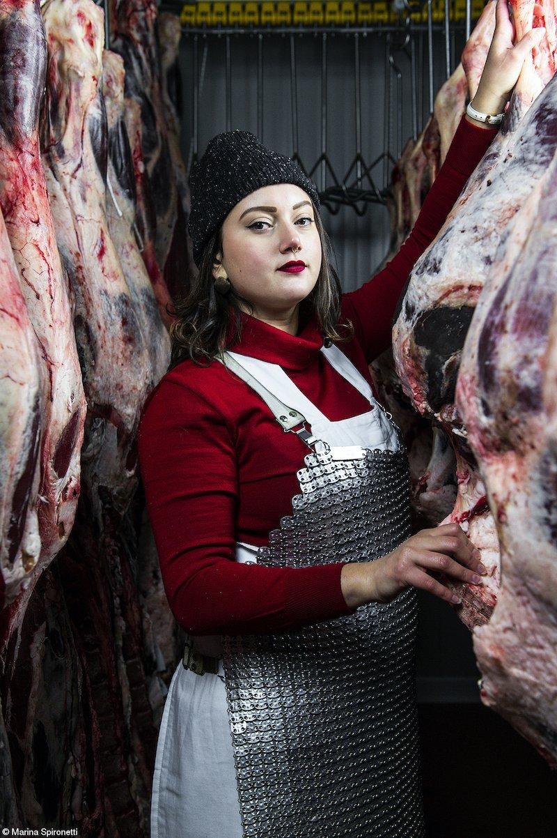 The Claire Aho Award for Women Photographers: Female butchers of Panzano - Martina, Marina Spironetti, Italy