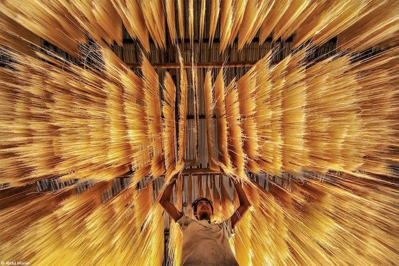 Fujifilm Award for Innovation: Making Rice Noodles, Abdul Momin, Bangladesh