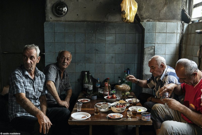 Politics of Food: Old Friends, Sandro Maddalena, Italy
