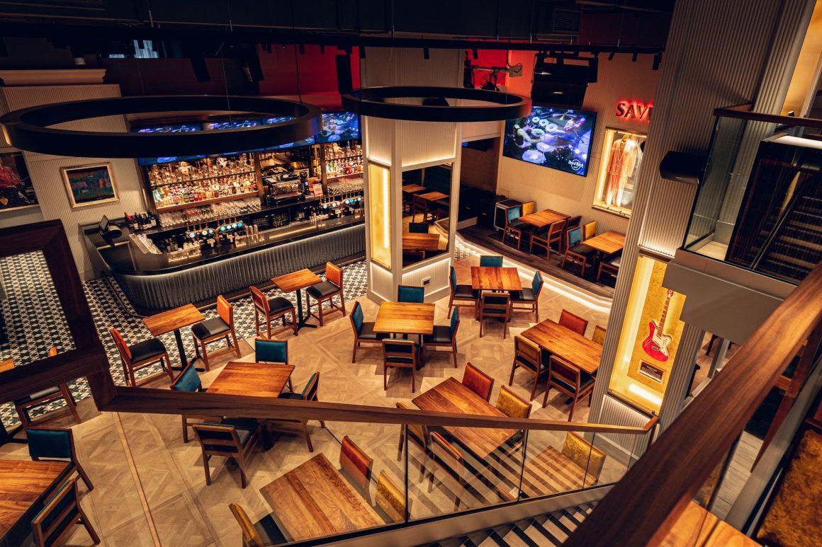Hard Rock Cafe Newcastle Inside